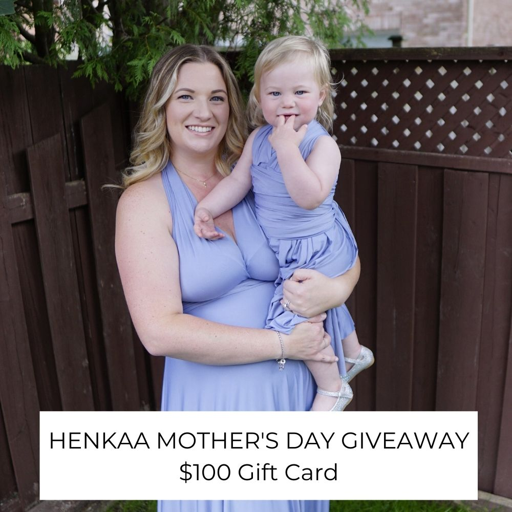 Mother's Day Giveaway - Vancity Weddings x Henkaa  Giftcard $100