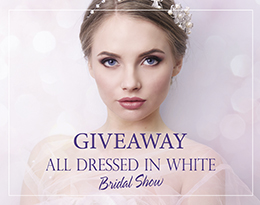 Win Four tickets to All Dressed in White Bridal Show