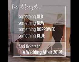 Win two tickets to A Wedding Affair