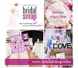 Win two tickets to The Original Bridal SWAP