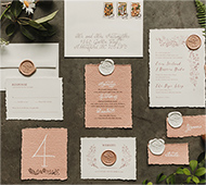 OMD creative - Vancouver Wedding Invitations